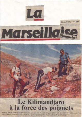 la UNE de La Marseillaise 1986