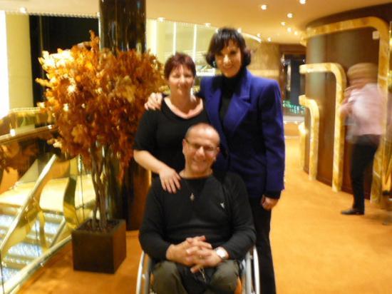 Avec Denise Fabre et mon amour Catherine
