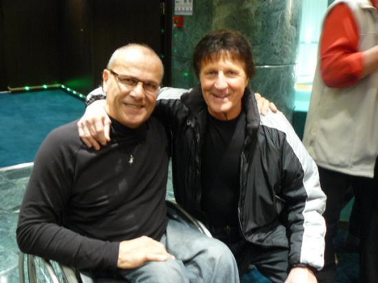 Avec Michel Orso