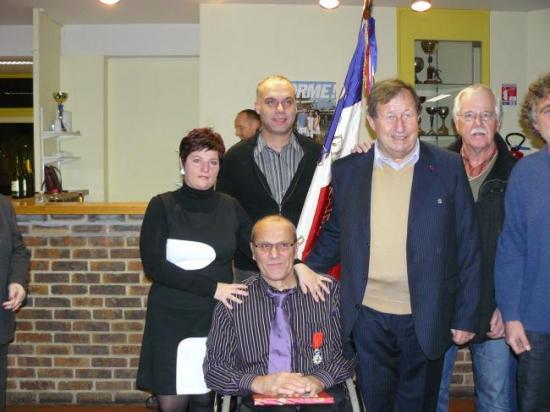 Remise Légion d'Honneur par Guy Roux en