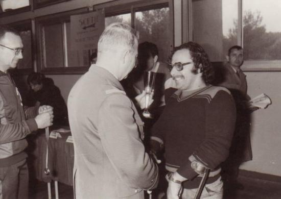 Avec le Général Multon