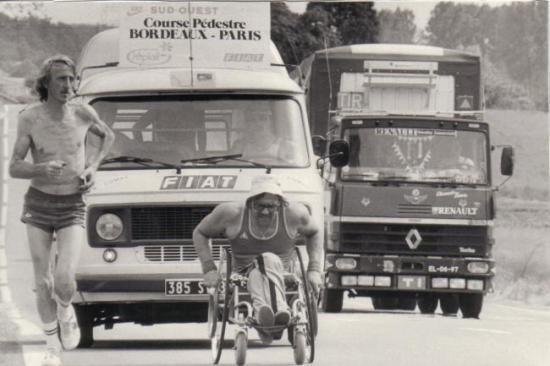 Sur la route de Bordeaux-Paris 1983