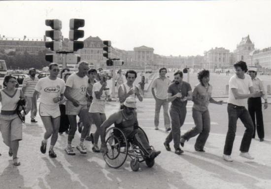 Arrivée Bordeaux-Paris 1983