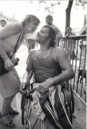Bordeaux-Paris 1983 avec ma soeur