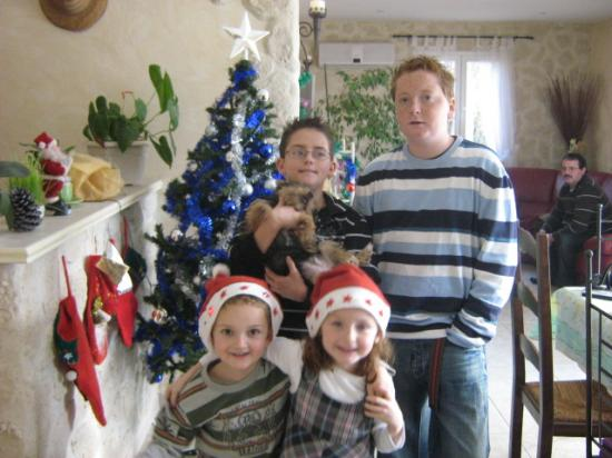 Mes 4 petits-enfants 2007